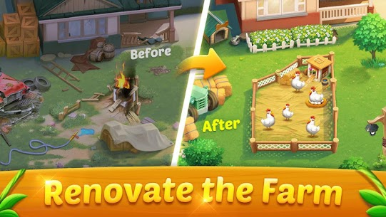 Solitaire Dream Farm MOD (Unlimited Coins) 1