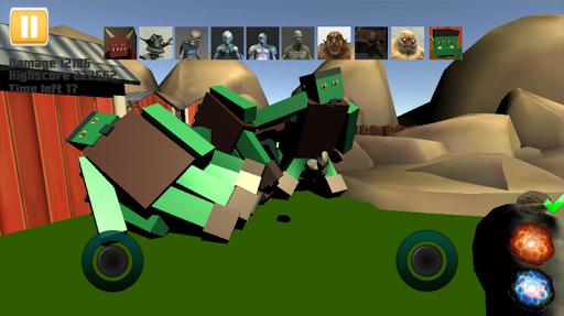 Ragdoll Monster Sandbox - ragdoll physics sandbox v23 de.gamequotes.net 2