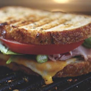 H.A.T. Sandwich (Ham, Asparagus And Tomato).