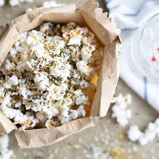 Everything Bagel Popcorn.