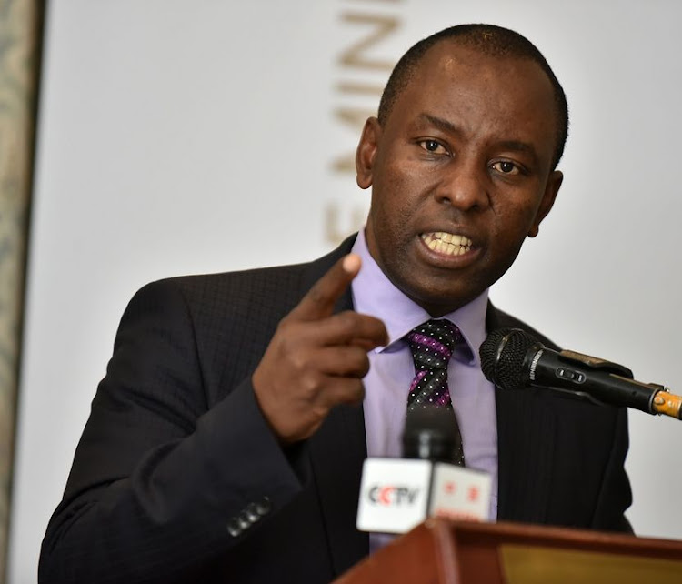Mosebenzi Zwane, Minister of Minerals and Energy Resources.