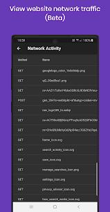 Dev Browser: Proxy, JS Console, Web Edit Inspect v1.0.6 (Paid) 3