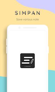 Simpan - Note various needs 1.1.2 (Paid) (SAP) (Arm64-v8a)