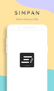 Simpan – El guarda notas que necesitas 1