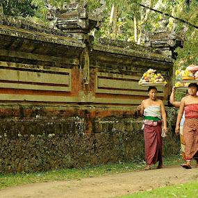 The strong women by I Wayan Gunayasa - People Portraits of Women