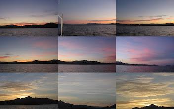 Photo: Sunrise panorama