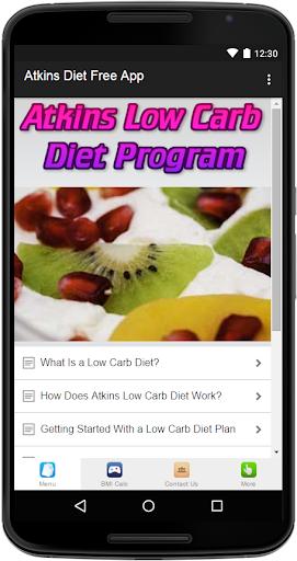 Atkins Diet Free App