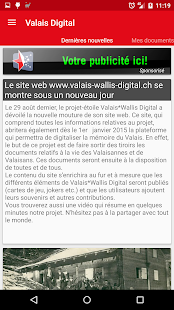 Valais-Wallis Digital- screenshot thumbnail