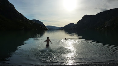Photo: Next morning. The water has ideal 8 degrees!