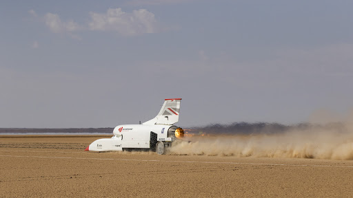Bloodhound hits 1,010km/h to complete SA testing