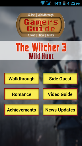 Guide for The Witcher 3