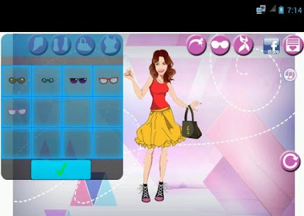 Violetta Dress up Games- screenshot thumbnail