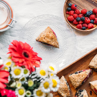 Berry Spelt Scones {for Mother's Day}