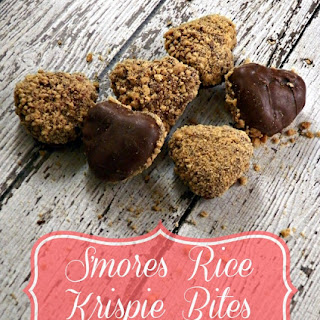 S'mores Rice Krispie Bites