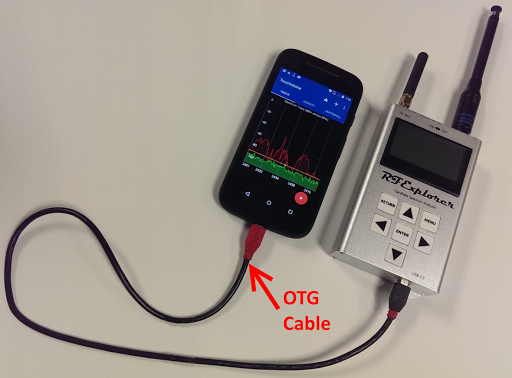 OTG Test For RF Explorer
