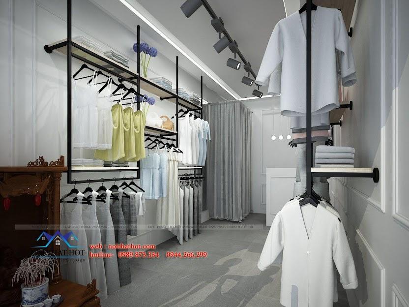 thiết kế shop thời trang L&M 3