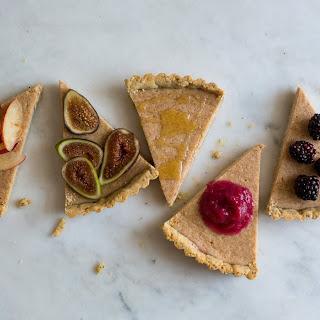 Ricotta Tart with Lemon Poppy Crust