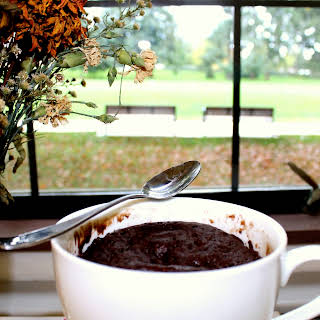 Microwave Chocolate Cake.