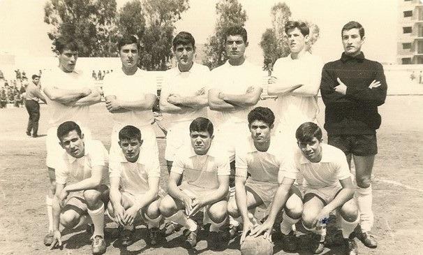 Juanillo, Nieto, Escamilla, Basora, Maxi, Julio Zapata, Juanín, Frasco, Penno, Miranda y Paquitico.
