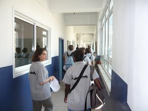 Photo: Visite de l'école melkite de Ramallah avant l'ouverture du camp d'été