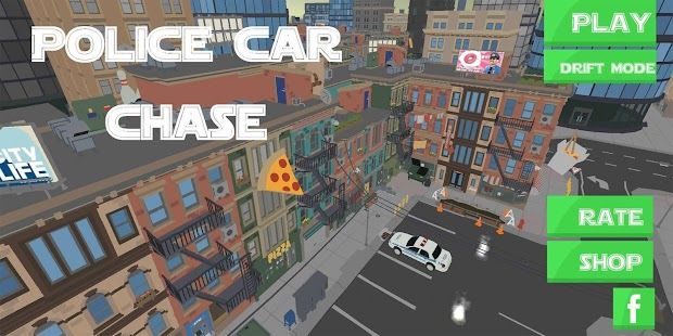 Police Car Chase Screenshot