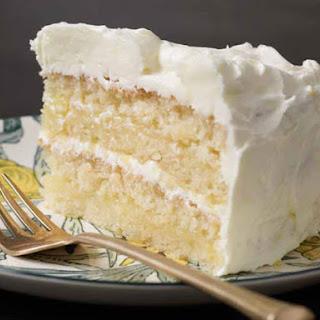 Gluten-free Lemon Layer Cake.
