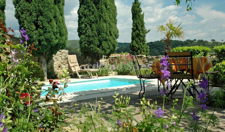Propriété avec piscine Le Barroux