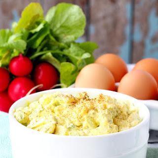 Skinny Egg Salad.