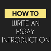 Write An Essay Introduction