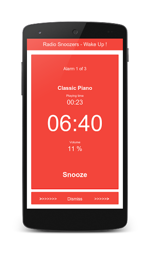 Radio Snoozers - Alarm Clock