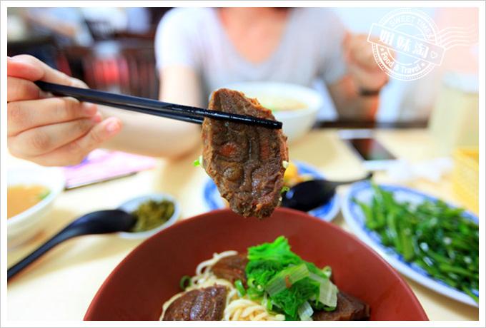 夯園牛肉麵館菜單乾拌牛肉麵
