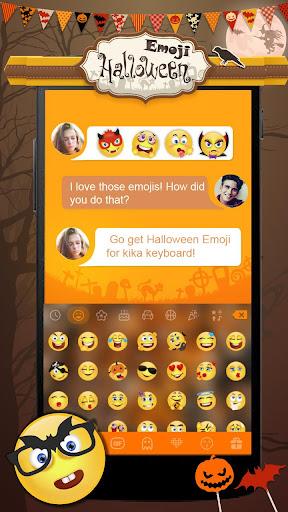 玩免費個人化APP|下載Halloween Emoji Kika Keyboard app不用錢|硬是要APP