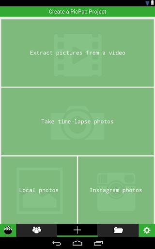 PicPac Stop Motion & TimeLapse 1.53 screenshots 10