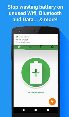 Battery Aid - Saver & Manager - screenshot
