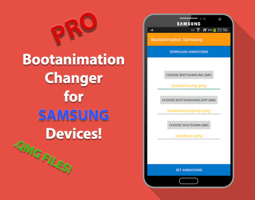 Bootanimation for Samsung Pro