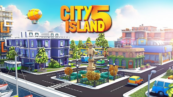City Island 5 - Tycoon Building Simulation Offline Screenshot