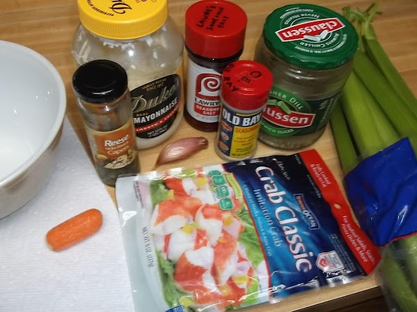 Gather and prep all ingredients.