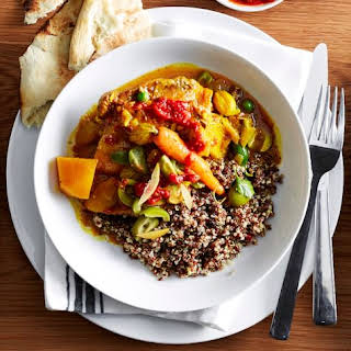 Moroccan-Style Chicken Stew with Quinoa.