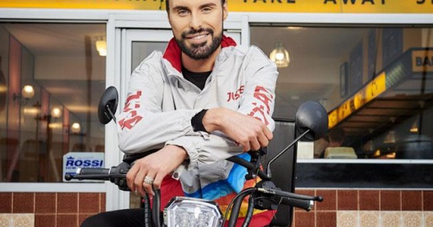 Rylan Clark-Neal is Just Eat's newest delivery man