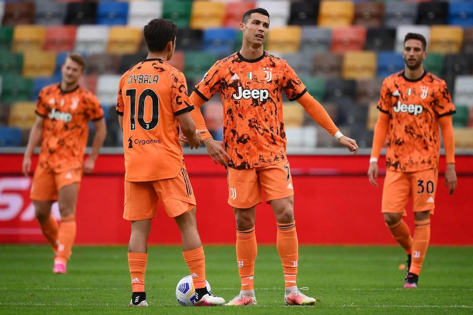 Ronaldo đang trở lại mạnh mẽ gánh vác Juventus