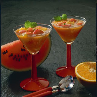 Orange and Watermelon Coolers.