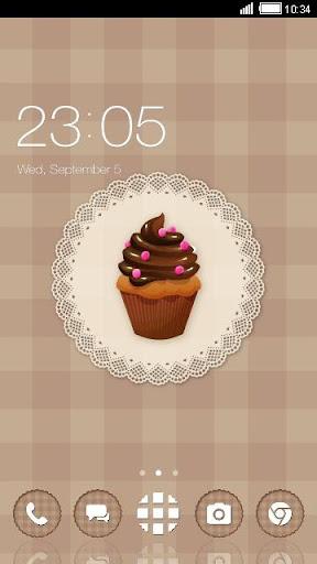 Chocolate Cupcake Theme