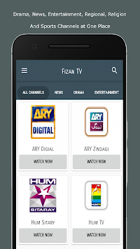 All Pakistani TV Channels Free - Fizan TV