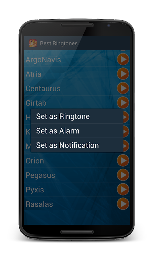 Nexus Ringtones Music & Sounds- screenshot