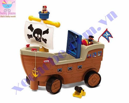 Xe chòi chân tàu cướp biển 1