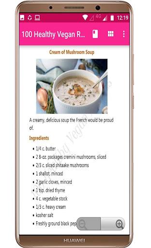 100 Healthy Vegan Recipes 1.0 screenshots 2