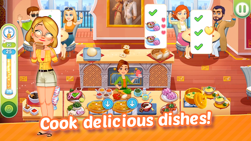 Delicious World - Romantic Cooking Game 1.8.7 screenshots 2