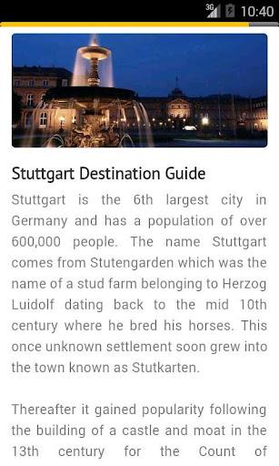 斯圖加特旅行指南德國