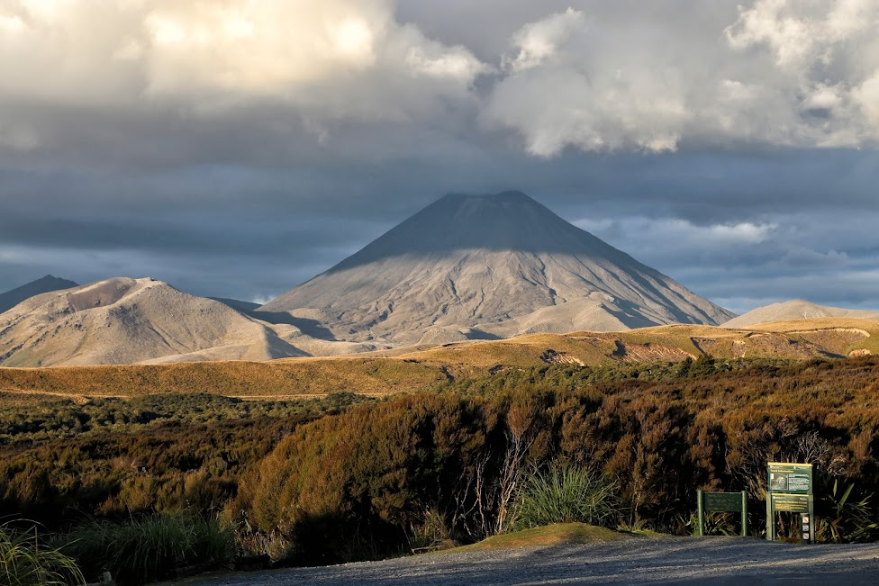 Ngauruhoe, nowozelandzkie wspomnienia