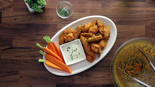 Easy Baked Buffalo Chicken Wings